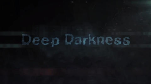 Deep Darkness - Dark Logo Opener After Effects Template
