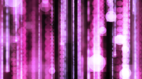 Pinkish Data Flowing Matrix Animation