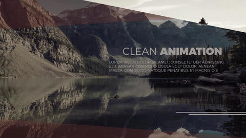Minimal Elegant SlideShow After Effects Template