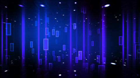 Abstract Fashion Lights Animation