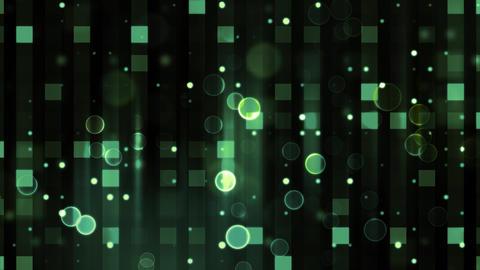 Subtle Grid Lens Particles Animation