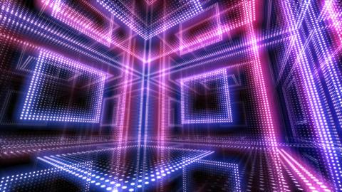 LED Room 1 B AbR1 4k Animation