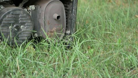 Gasoline powered portable generator Footage