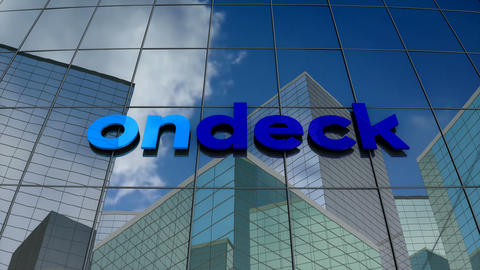 Editorial, On Deck Capital logo on glass building Animation