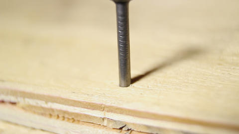 Man hammering last nail, symbol of successfully completed work, achievement Footage