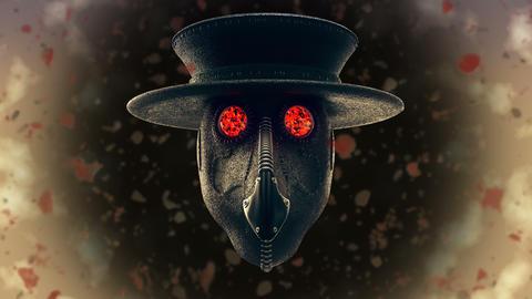 Plague Doctor VJ Loop Animation
