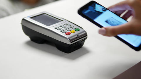 Contactless Payment with Smartphone ビデオ