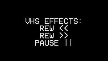 VHS effects & Presets Premiere Proテンプレート