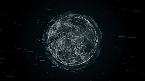 sphere in sphere seamless loop animation Animation