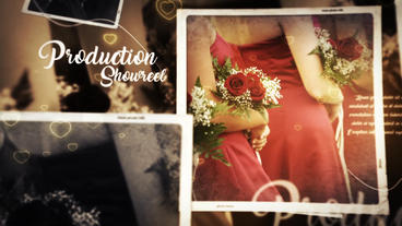 Wedding Memories Slideshow Plantilla de After Effects