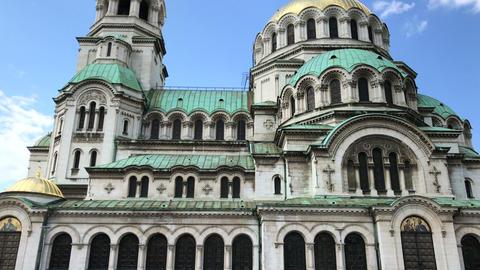 Alexander Nevsky Cathedral in Sofia Archivo