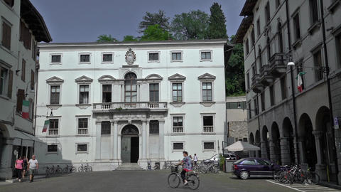 Vincenzo Joppi Civic Library in Udine Footage