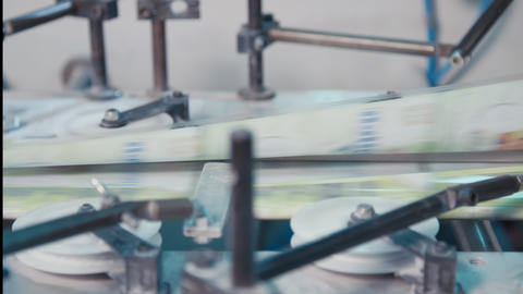 High speed printing process in a large printing facility Live Action