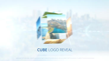 Cube Logo Reveal – Apple Motion and Final Cut Pro X Template Apple Motionテンプレート