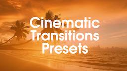 Сinematic Presets Premiere Pro Template