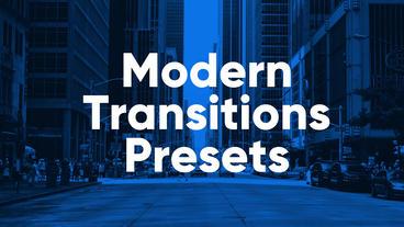 Modern Presets Premiere Proテンプレート