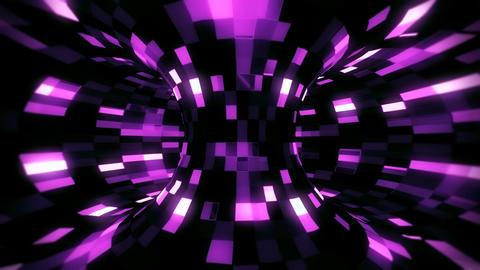 3D Fuchsia Sci-Fi Torus AI - Arificial Intelligence - VJ Loop Background V2 Animation