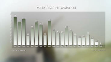 Minimal Infographics Plantilla de After Effects