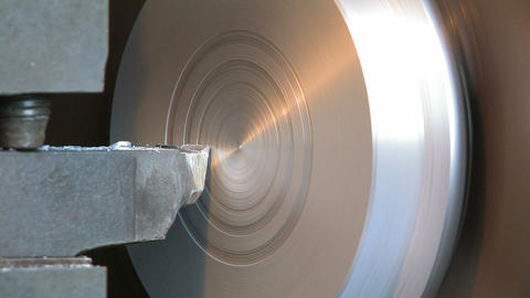 Production of a Detail on the Lathe Stock Video Footage