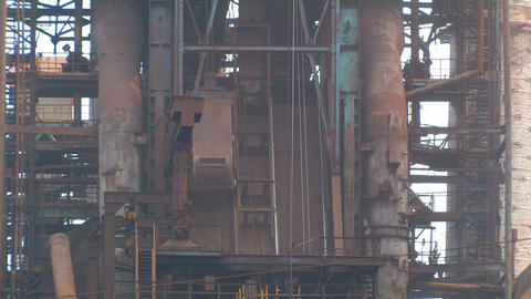 Metallurgical Plant Building stock footage