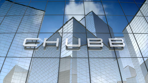 Editorial, CHUBB Limited logo on glass building Animation