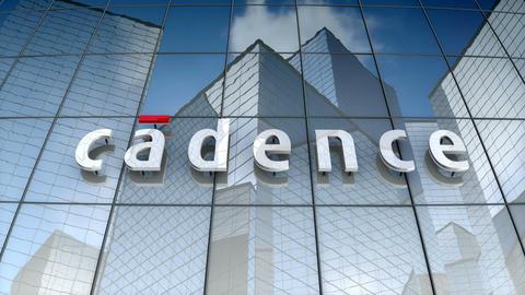 Editorial, Cadence Design Systems, Inc. logo on glass building Animation