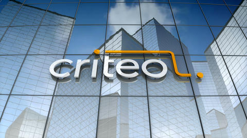 Editorial, Criteo logo on glass building Animation