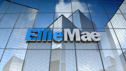 Editorial, EllieMae Inc. logo on glass building Animation