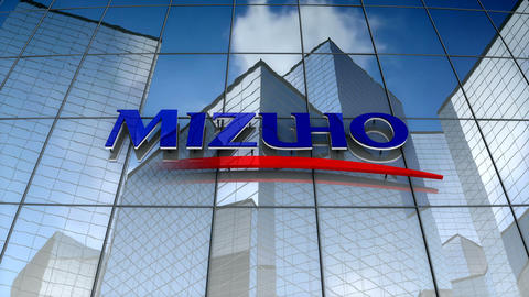 Editorial, Mizuho Financial Group, Inc. logo on glass building Animation