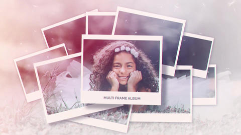 Multi Frame Photo Gallery After Effects Template