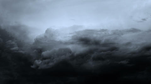 Storm Clouds Background Animation