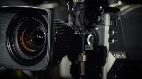Rotate of a Television Camera Live Action