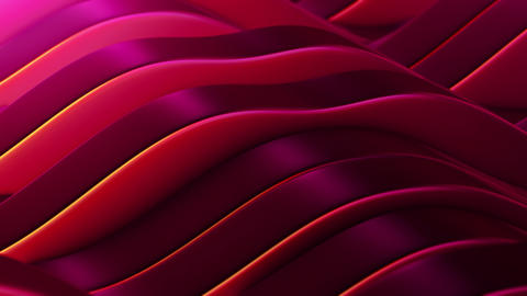 Red abstract fields vj Loop Animation
