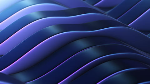 Blue-violet abstract fields vj Loop Animation