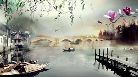 Bridge dynamic background Animation