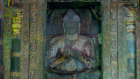 Monastery monk spiritual meditation Live Action