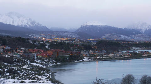 Ushuaia, the Southernmost City in the World, (Argentina) GIF
