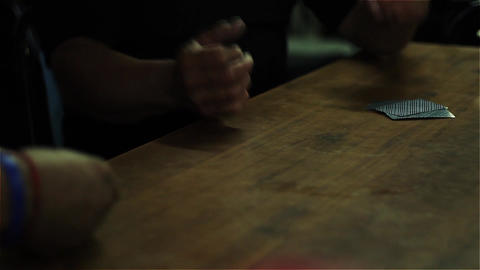 Men Playing Cards. Argentinean Truco (Card Game In... Stock Video Footage