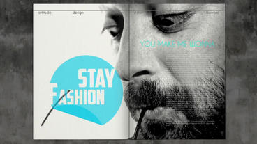 Your Fashion Magazine Show After Effectsテンプレート