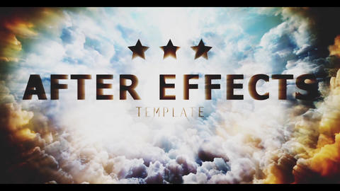 Cinematic Sky Titles After Effectsテンプレート