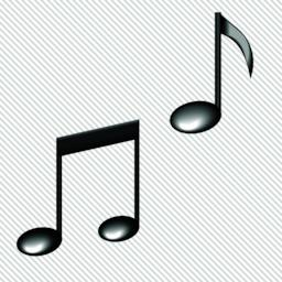 Illustration of a black notes isolated on white background VECTOR Vector