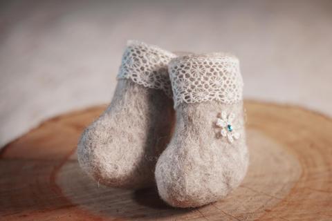 Decorative souvenir, handmade shoes Fotografía