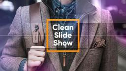 Clean Slideshow Premiere Pro Template