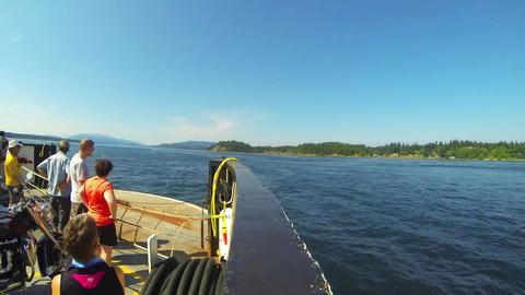 Ferry boat ship ride passengers ビデオ