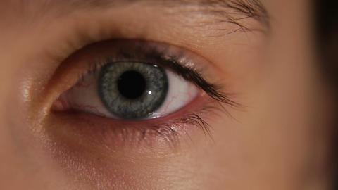 Women Eye, Close-up stock footage