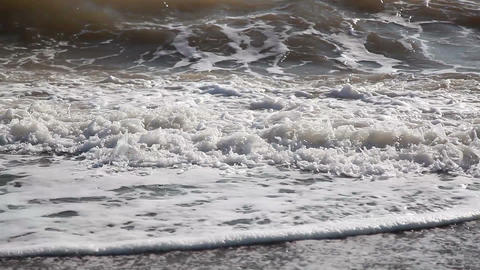 Waves on the Beach Footage