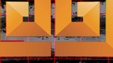 Geometric Glitch Intro After Effects Template