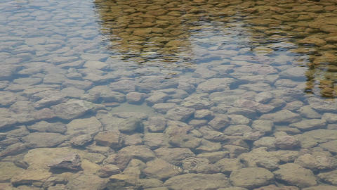 Stones at the Bottom of a Pond Footage