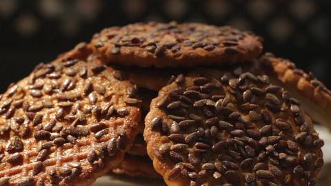 Cookies rotate 4 Footage
