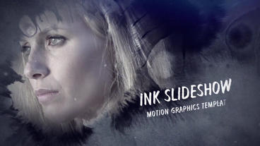 Ink Slideshow After Effects Project